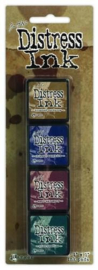 Ranger Distress Mini Ink Kit 12 TDPK40422 Tim Holtz