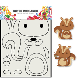 Dutch Doobadoo - 470.713.797 - DDBD Card Art Eekhoorn