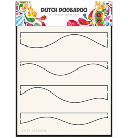 Dutch Doobadoo Mask Art Waves