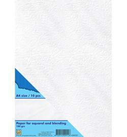 Nellie`s Choice - AQBLP001 - Paper for aquarel & blending technique White