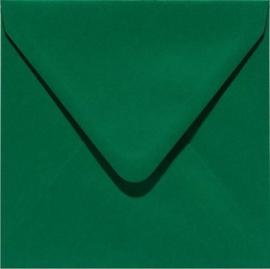 Papicolor Envelop vierk. 14cm dennengroen 105gr-CV 6 st 303950 - 140x140 mm