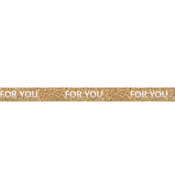 Ursus - Cork Tape - For You Silver