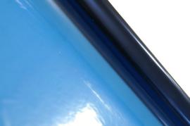 Cellofaan folie marine blauw 70x500cm