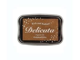 Delicata inktkussen Metallic Golden Glitz DE-000-191