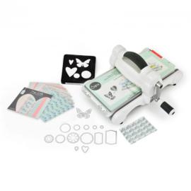 Sizzix Big Shot Starter Kit White & Grey ft. MLH 661545 (A5) - incl. cadeaubon van EUR 15,--