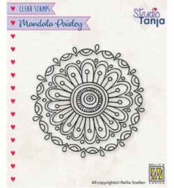 Nellie`s Choice - CSMAN010 - Mandala's Paisley flower 2