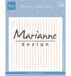 Marianne D Embossing DF3456 - Marjoleine's stripes