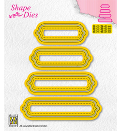 Nellie`s Choice - SD207 - Set of 4 tags-6