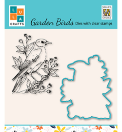 Nellie`s Choice - HDCS009 - Garden bird-1