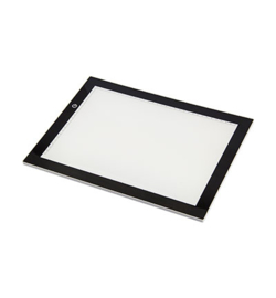 Nellie`s Choice LED001 - LED, ultra thin Light table (3 different adjustable brightness levels)