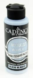 Cadence Hybride acrylverf (semi mat) Mild blauw 01 001 0036 0120 120 ml