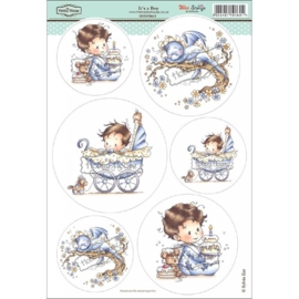 The Hobby House Wee Stamps - It's a Boy (HHWS015)