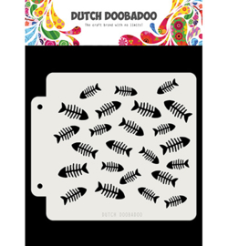 Dutch Doobadoo - 470.715.159 - DDBD Dutch Mask Visgraat