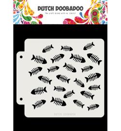 Dutch Doobadoo - 470.715.159 - DDBD Dutch Mask Visgraat