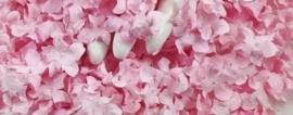 Gekruld Bloem - Soft Pink