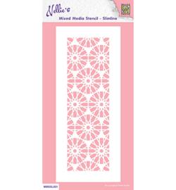 Nellie`s Choice - MMSSL021 - Slim line stencils, Crystal