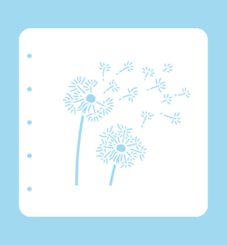 Nellie`s Choice - COLST011 - Stencil Dandelion