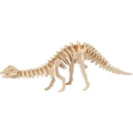Apatosaurus - 3D Hout constructieset met APP