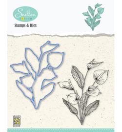 Nellie`s Choice - HDCS007 - Flowers serie: -Anthurium-