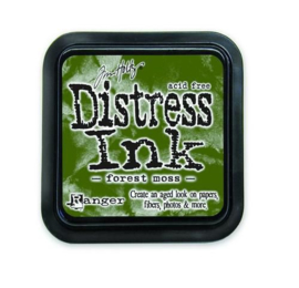 Ranger Distress Inks pad - forest moss stamp pad TIM27133 Tim Holtz