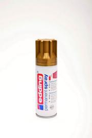 Edding 5200 permanent spray mat rijkgoud  (200ml)