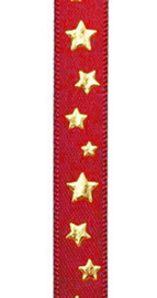 Vivant Ribbon Twinkle red - 10MM- per meter