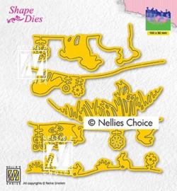 Nellie`s Choice - SD192 - Set-up spring scene