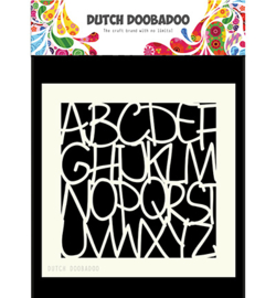 Dutch Doobadoo Mask Art Alphabet