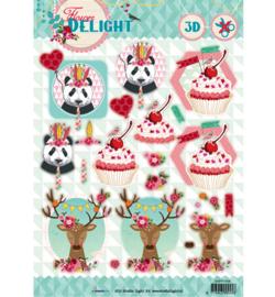 Studiolight - Flower Delight nr.458