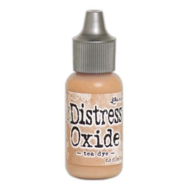 Ranger Distress Oxide Re- Inker 14 ml - Tea Dye TDR57376 Tim Holtz