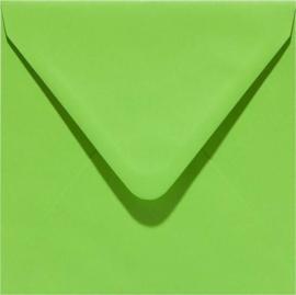 Papicolor Envelop vierk. 14cm lentegroen 105gr-CV 6 st 303952 - 140x140 mm