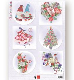 Marianne D Knipvel EWK1279 - Christmas Wishes gnomes