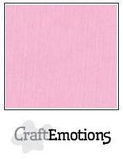 CraftEmotions linnenkarton roze 27x13,5cm 250gr