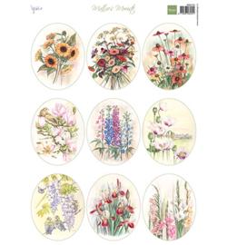 Marianne D Knipvel MB0194 - Mattie's Mooiste - Field bouquets Ovals