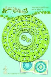 LeCrea - Lea'bilitie Frame circles snij en embossing mal 45.0553