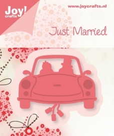 Cutting & Embossing stencil - Just Married