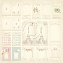 Pion Design - Paris Flea Market - Tags - 12x12