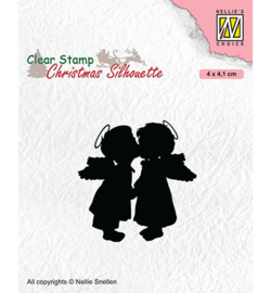 Nellie`s Choice - CSIL012 - Two kissing angels
