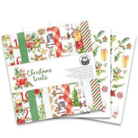 Piatek13 - Paper pad Christmas treats P13-CHT-08 12x12