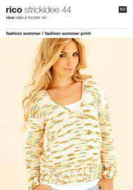 Rico Strickidee 44 - fashion summer / fashion summer print