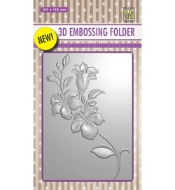Nellie`s Choice EF3D005 - Branch with Flowers
