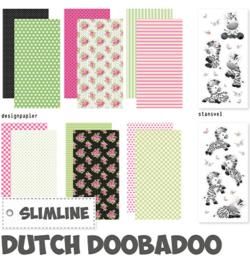 Dutch Doobadoo - 473.005.016 - Crafty Kit Slimline Zebra