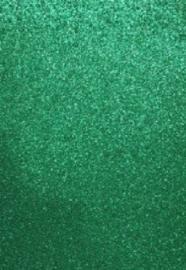 EVA foam vellen 2mm 22x30cm 5 st Groen glitter 12315-1535