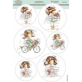 The Hobby House Wee Stamps - Spring Bringer (HHWS001)
