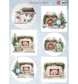 Marianne D Knipvel - VK9594 - Christmas at home