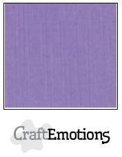 CraftEmotions linnenkarton lavendel 27x13,5cm 250gr