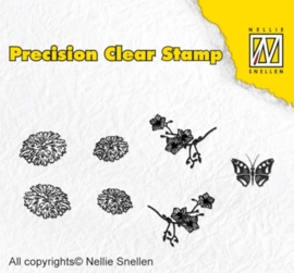 Precission Stamps-Naturedandelion APST015