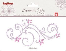 ScrapBerry's Pearls Swirl Summer Joy 2 6,5x12 cm (SCB341502)