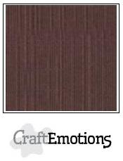 CraftEmotions linnenkarton koffie 30,5x30,5cm