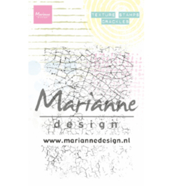 Marianne D Stempel - MM1628 - Texture stamps - Crackles